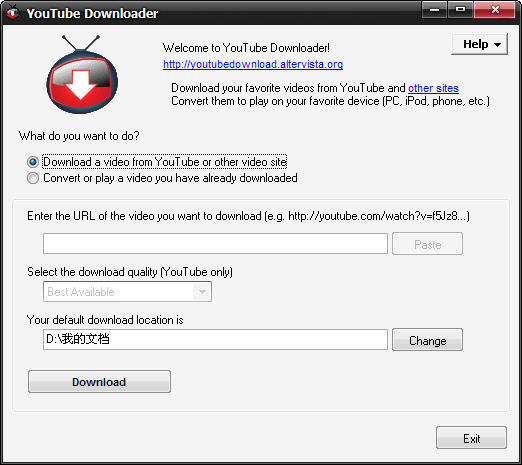��Ƶ��վ������(YouTube Downloader) 3.5 ������Ѱ�