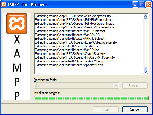 XAMPP for Windows V7.3.6.0 多语安装版