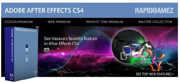 After Effects CS4(AECS4) 汉化中文正式版