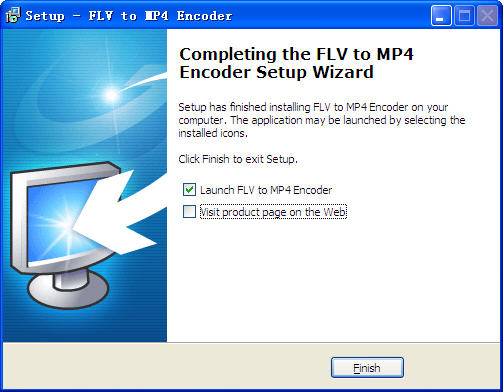 flv转mp4格式转换器(FLV to MP4 Encoder) v1.0官方安装版