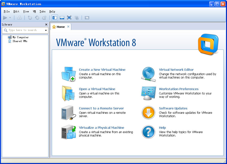 VMware Workstation 8虚拟机 v8.0.4 官方安装版