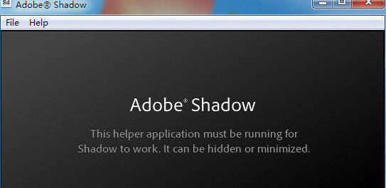 Adobe Shadow v2.0 官方版
