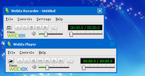 WebEx Recorder and player 3.17 官方最新版