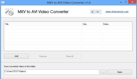 MKV转avi转换器(MKV to AVI Video Converter) v1.0 免费版
