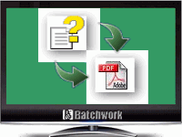 Batch CHM to PDF Convertor批量CHM转PDF转换器