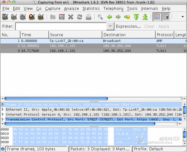 Wireshark Mac版 V1.12.4
