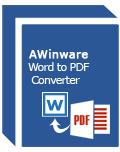 AWinware Word to PDF Converter(Word转PDF转换器)