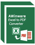 AWinware Excel to PDF Converter(Excel转PDF转换器)