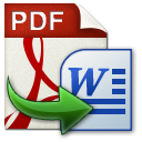 PDF转Word文件(AnyBizSoft PDF to Word Converter)