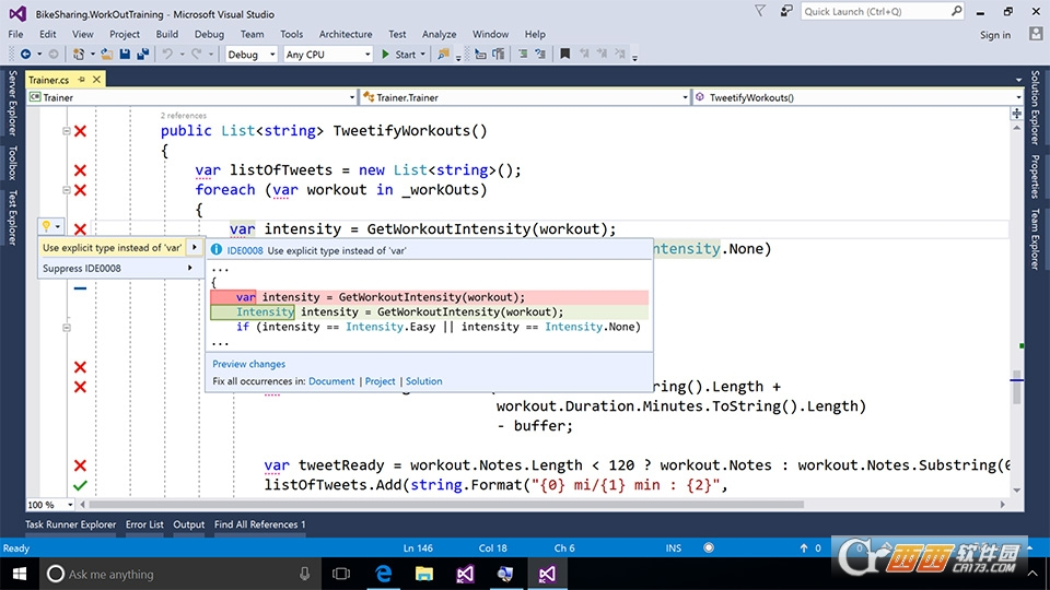 Visual Studio Community 2017 15.7.27703 官方版
