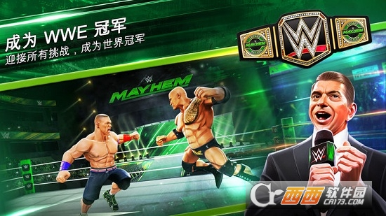 WWE大混斗(WWE Mayhem)