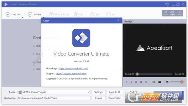Apeaksoft Video Converter Ultimate破解版 v1.0.10附Patch补丁