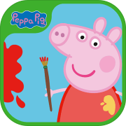 Peppa Pig Paintbox游戏
