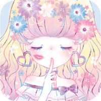 Wallpaper Flowery Kiss
