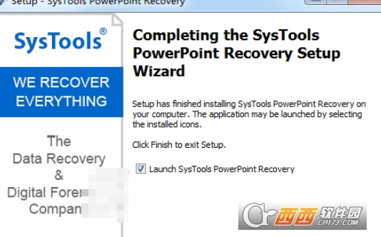 SysTools PowerPoint Recovery(ppt修复工具) v4.0绿色版