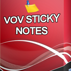 VovSoft Sticky Notes桌面便签应用